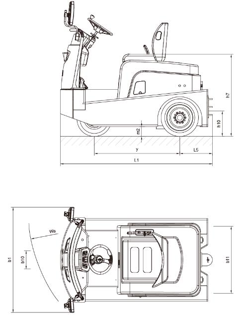 比亞迪電動牽引車