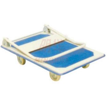 轻型钢制平板推车单层