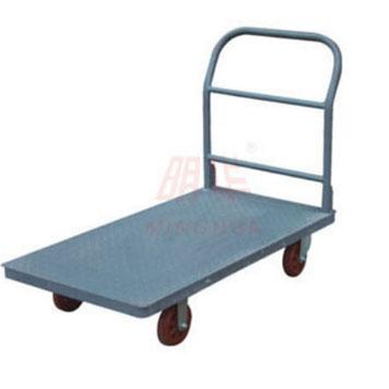 重型花纹钢制平板推车
