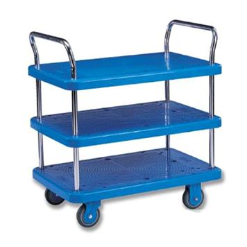 塑料平板推车(多层)